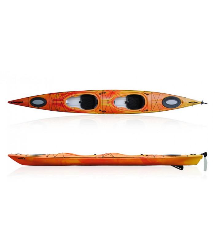 Tandem kayak DAG BIWOK EVO HI-LUXE