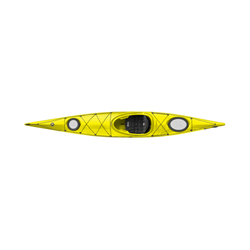 Single kayak PERCEPTION EXPRESSION 15 w/rudder