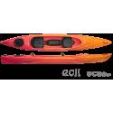 Tandem kayak ROTEKO EOLI LUX