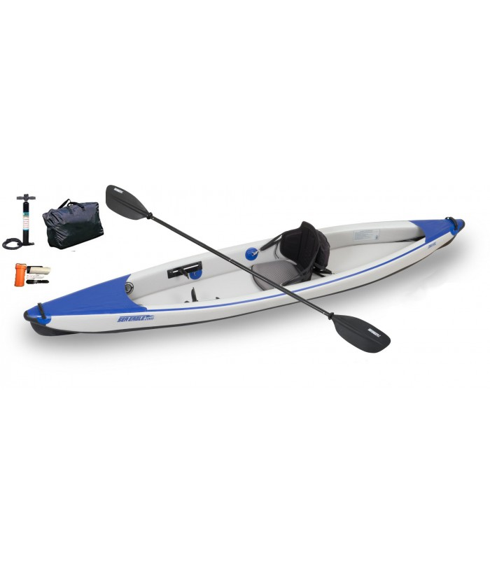 Inflatable single kayak KS-393