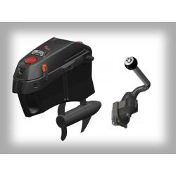 Outboard motor mount kit for JONNY BOAT BASS 100 kayak