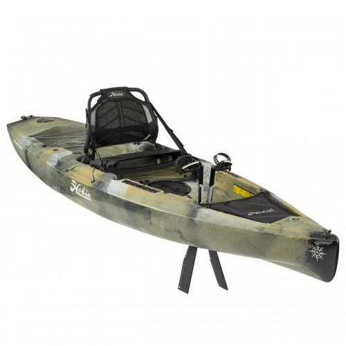Solo kayak HOBIE MIRAGE COMPASS CAMO MIRAGEDRIVE 180 TURBO FINS