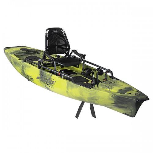 Solo fishing kayak HOBIE MIRAGE PRO ANGLER 12 360 DRIVE