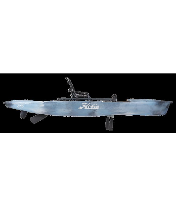 Solo fishing kayak HOBIE MIRAGE PRO ANGLER 14 360 DRIVE