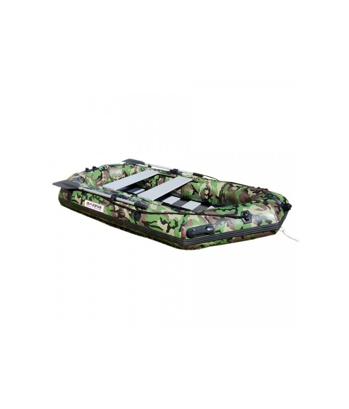 Inflatable PVC boat AMONA PM F-210TS CAMO