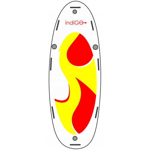 Inflatable SUP board INDIGO 16.8 XL