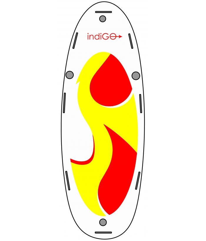 Pripučiama irklentė INDIGO 16.8 XL