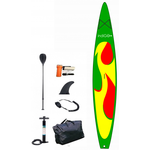 Inflatable SUP board INDIGO  12.3 RACE