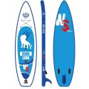 Inflatable SUP board WILDSUP KING LION BLUE 11.5