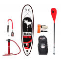 Inflatable SUP board WILDSUP BLACK MOOSE 10.6 DOUBLE CHAMBER