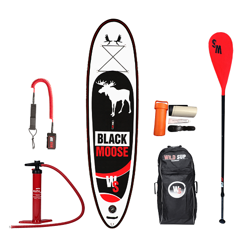 Inflatable SUP board set WILDSUP BLACK MOOSE 10.6