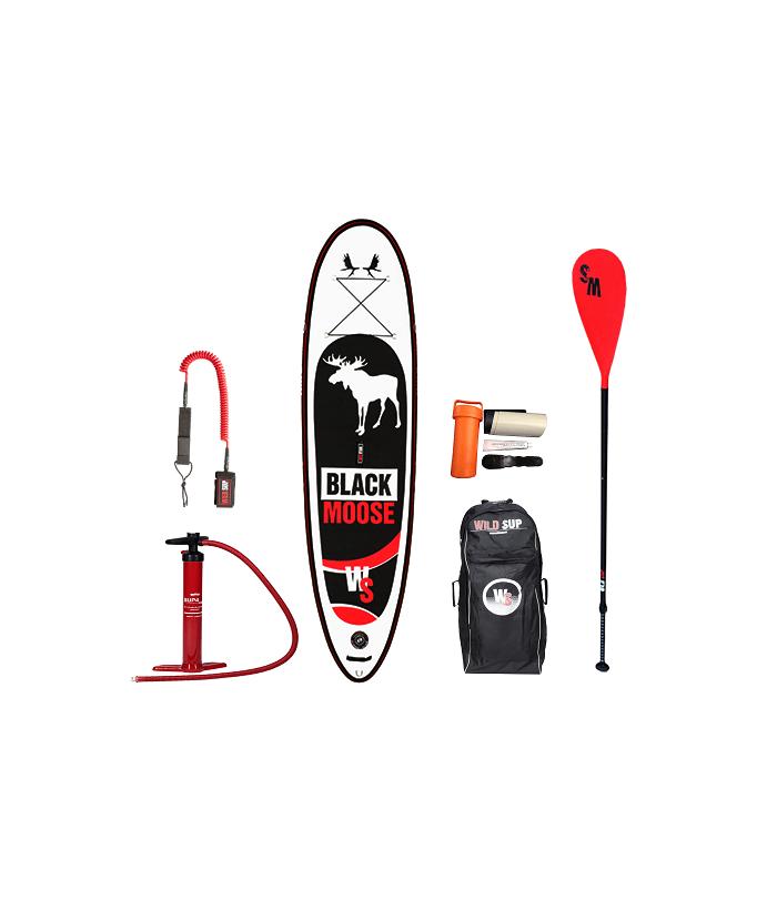 Inflatable SUP board set WILDSUP BLACK MOOSE 10.6