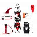 Inflatable SUP board WILDSUP KING LION 11.5  DOUBLE CHAMBER