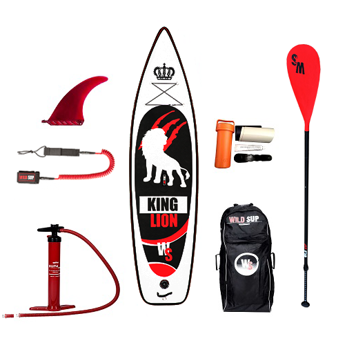 Inflatable SUP board set WILDSUP KING LION 11.5