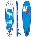 Inflatable SUP board WILDSUP BLUE MOOSE 10.6 DOUBLE CHAMBER