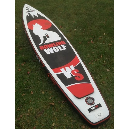 Used inflatable SUP board WILDSUP HOWLING WOLF 12'6