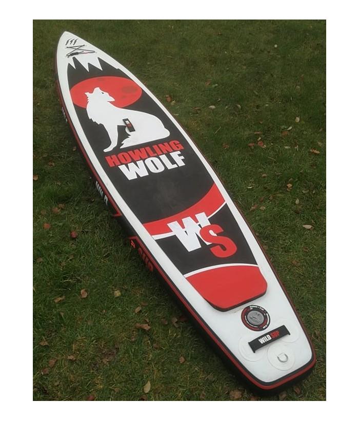 Naudota pripučiama irklentė WILDSUP HOWLING WOLF 12'6