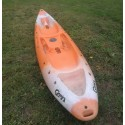 Used tandem SOT kayak PERCEPTION SCOOTER GEMINI