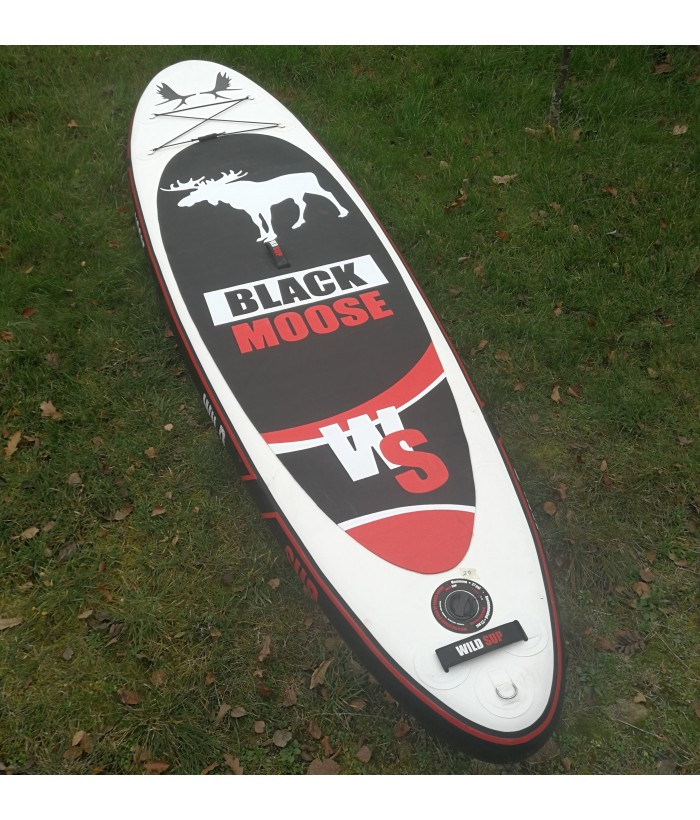 Ex-display inflatable stand-up-paddle board WILDSUP BLACK MOOSE 10.6