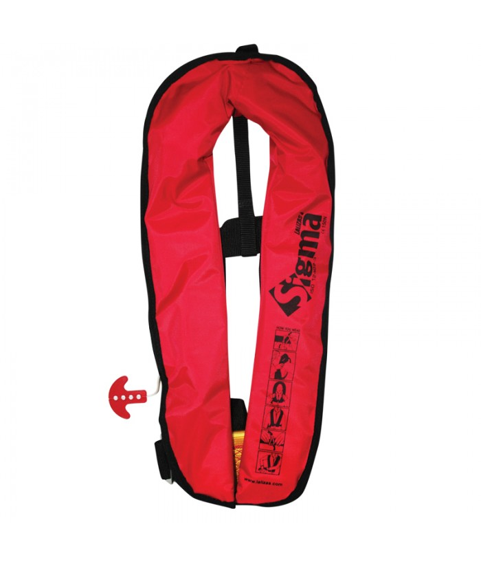 Inflatable automatic buoyancy aid LALIZAS SIGMA 170N AUTO