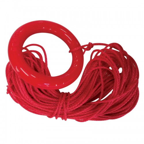Mooring ring with 30 m. rope