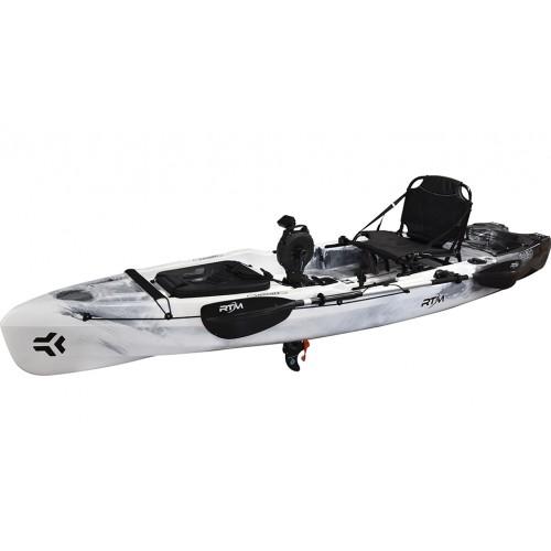 Pedal powered fishing kayak RTM HIRO IMPULSE DRIVE ANGLER