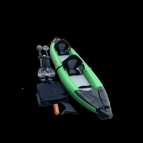 Inflatable tandem kayak DS-390 HYBRID