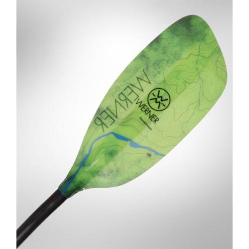 Kayak paddle WERNER POWERHOUSE - Bent