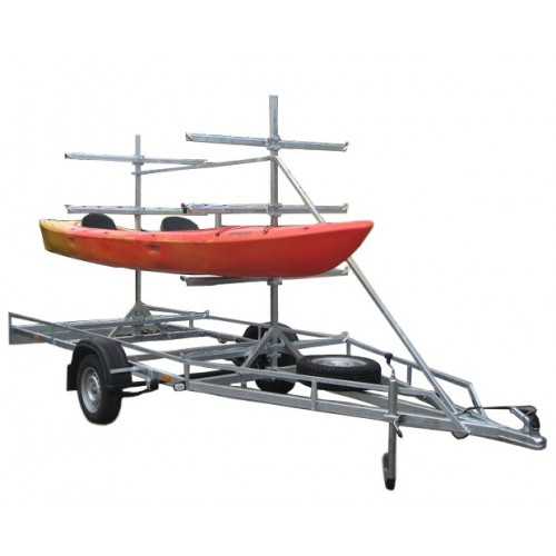 Canoe / kayak trailer MASTER-TECH MULTI BOAT-8