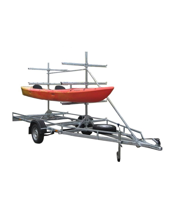 Canoe / kayak trailer MASTER-TECH MULTI BOAT-8