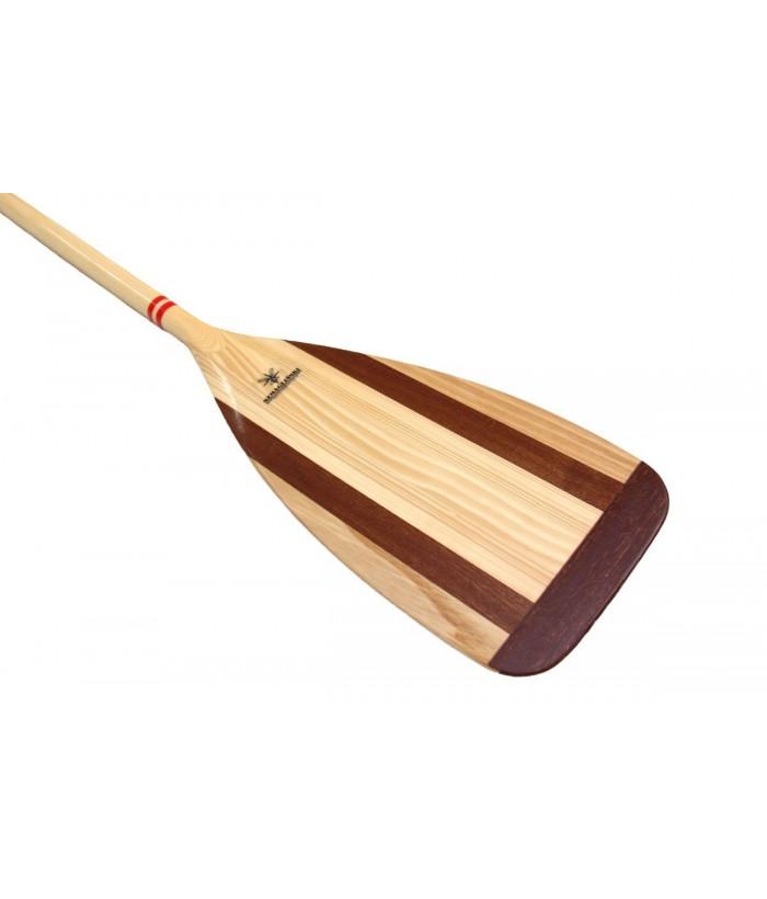 Wooden canoe paddle PLUSK
