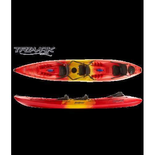 Sit On Top kayak FEELFREE TRI-YAK